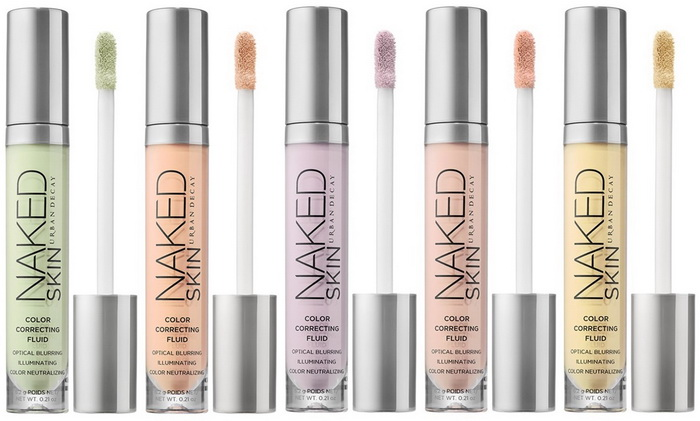 Новые корректоры-флюиды Urban Decay Naked Skin Color Correcting Fluid Spring 2016