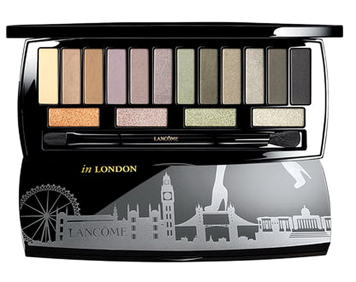 Рождественская палетка для глаз Lancome Auda[City] in London Eyeshadow Palette Holiday 2016-2017